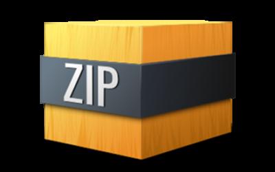 Jak importovat šablonu v ZIP archivu?