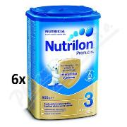 Nutrilon 3 Pronutra batolecí mléko 6x800g.