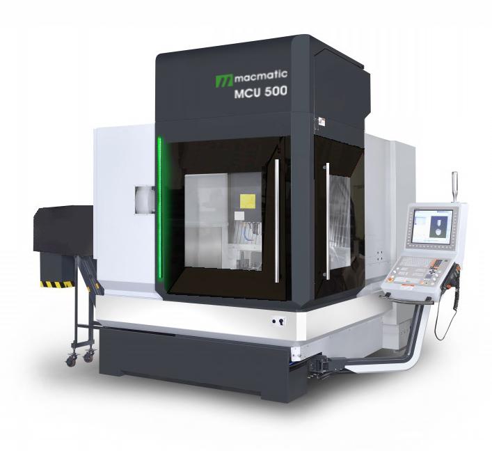 Pětiosé frézovací centrum macmatic MCU 500