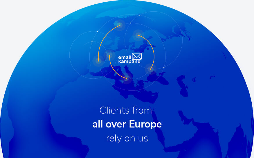 Clients from across all Europe rely on us.
